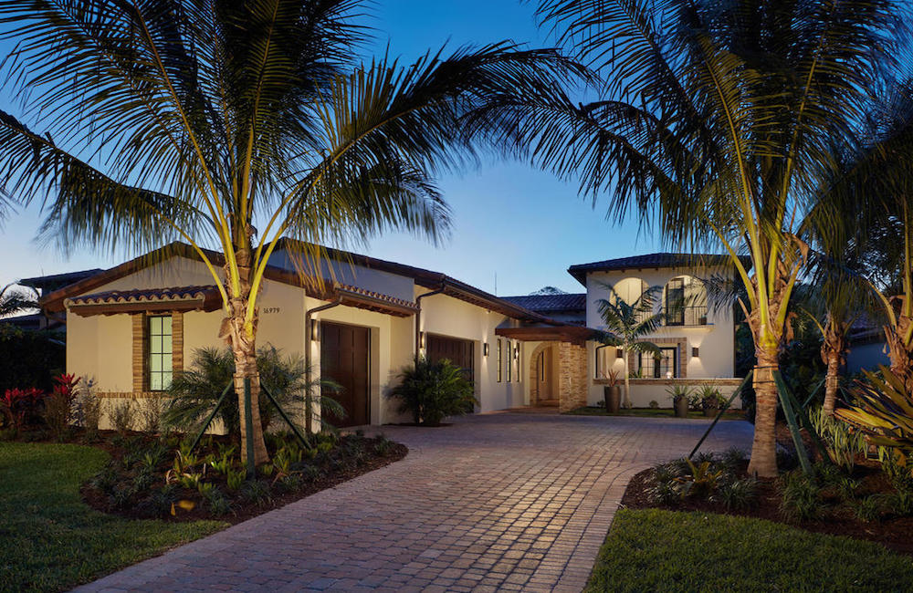 New Model Homes: The Capriano in Cortile at Mediterra